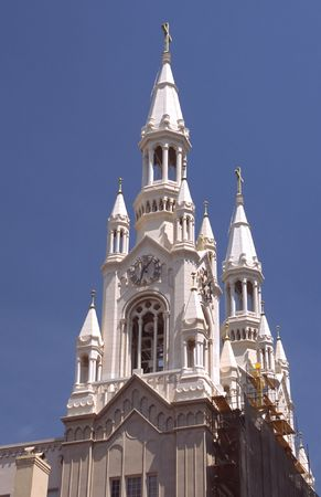 Saints Peter and Paul Church is a Roman Catholic Church in San Franciscos North Beach neighborhood. photo