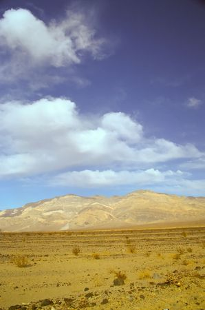 Death Valley is the lowest, driest and hottest valley in the United states. It is the location of the lowest elevation in North America Banco de Imagens