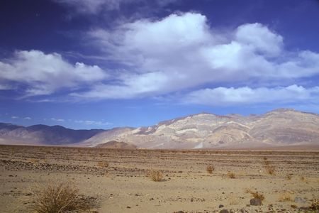 Death Valley is the lowest, driest and hottest valley in the United states. It is the location of the lowest elevation in North America Banco de Imagens - 3018317