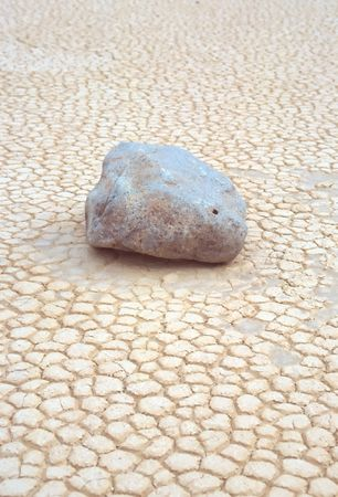 seasonally: Racetrack Playa is a seasonally dry lake (a playa) located in the northern part of the Panamint Mountains in Death Valley National Park, California, U.S.A.. It is famous for sailing stones, rocks that mysteriously move across its surface.