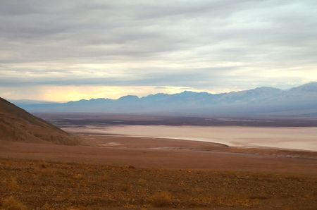 Death Valley is the lowest, driest and hottest valley in the United states. It is the location of the lowest elevation in North America Banco de Imagens - 3018264