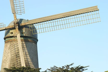 watermanagement: The North Windmill in Golden Gate Park in San Francisco, California