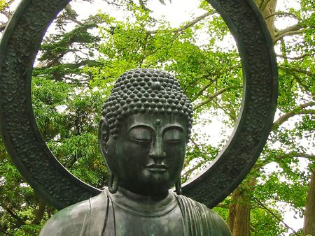 the japanese tea garden: Buddha Statue, Japanese Tea Garden, Golden Gate Park