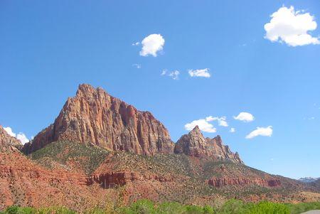 Zion National Park in Utah. photo
