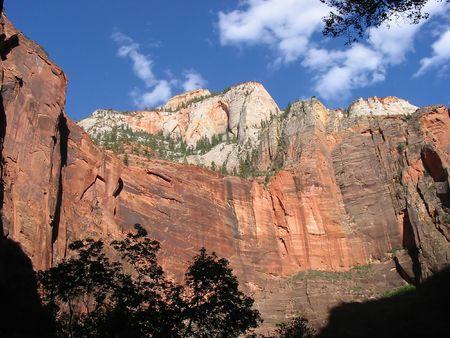 anasazi: Zion National Park in Utah.