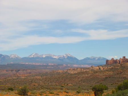 Red Canyon near Zion NP in Utah photo