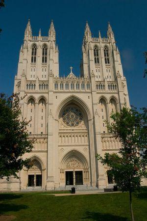 house of god: Washington National Cathedral, D.C. Stock Photo