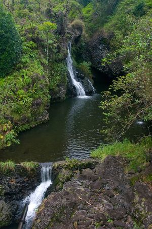 The island of Maui is the second-largest of the Hawaiian Islands photo