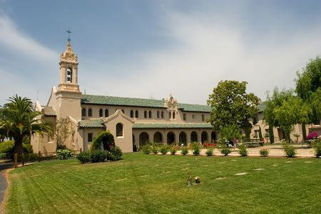 priesthood: Maryknoll Residence was built in 1926 as a residential seminary for students who were studying for the Roman Catholic priesthood. Stock Photo