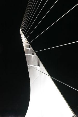Santiago Calatrava designed this Sundial Bridge at Turtle Bay, Redding, California. photo