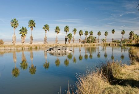 Zzyzx, California  is a settlement in San Bernardino County, California, formerly the site of the Zzyzx Mineral Springs and Health Spa and now the site of the Desert Studies Center. photo