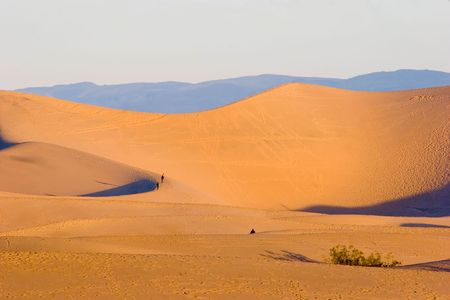Sand dunes in Death Valley National Park near Stovepipe Wells. Stock Photo - 3125450