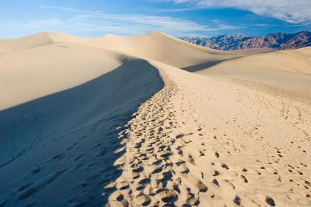 stovepipe: Sand dunes in Death Valley National Park near Stovepipe Wells.