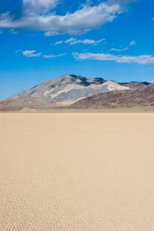 Racetrack Playa is a seasonally dry lake (a playa) located in the northern part of the Panamint Mountains in Death Valley National Park, California.