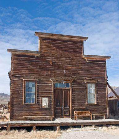 Bodie, California, è una città fantasma a est della catena montuosa della Sierra Nevada in Mono County, California Archivio Fotografico - 3136726
