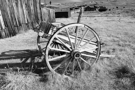 Bodie, California is a ghost town east of the Sierra Nevada mountain range in Mono County, California photo