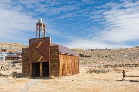 Bodie, California is a ghost town east of the Sierra Nevada mountain range in Mono County, California Stock Photo - 3136750