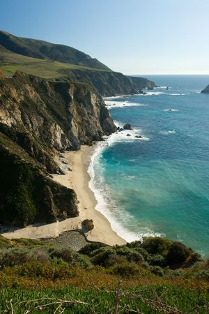 steinbeck: Bir Sur coastline in California
