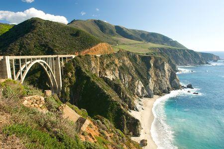oldest: Bir Sur coastline in California