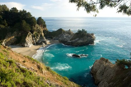 sur: Bir Sur coastline in California