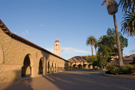commonly: Leland Stanford Junior University, commonly known as Stanford University or simply Stanford, is a highly selective and well regarded private university located approximately 37 miles (60 kilometers) southeast of San Francisco Stock Photo
