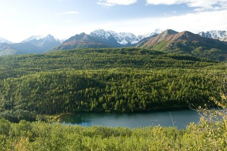 Wrangell-St. Elias National Park and Preserve is a United States National Park in southern Alaska. Banco de Imagens