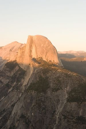 ponderosa pine: Glacier Point is a viewpoint above Yosemite Valley, in California, USA. It is located on the south wall of Yosemite Valley