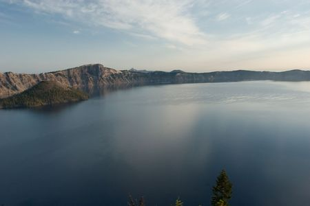 Crater Lake NationaL Park in Oregon photo
