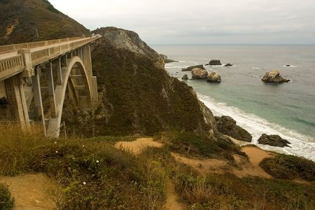steinbeck: Pacific Coast in Big Sur, California