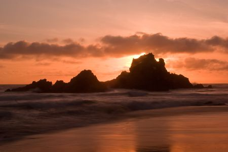 Pfeiffer Beach SP in Big Sur, California photo