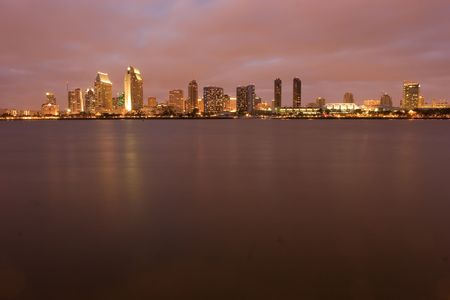 San Diego is a coastal Southern California city located in the southwestern corner of the continental United States. Stock Photo - 3250828