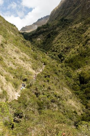 most popular of the Inca trails for trekking is the Capaq Ñan trail, which leads from the village of Ollantaytambo to Machu Picchu
