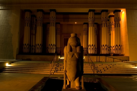 rosicrucian: Rosicrucian Egyptian Museum (REM), founded by the Ancient Mystical Order Rosae Crucis, is a museum about Ancient Egypt located at AMORCs Rosicrucian Park in the Rose Garden neighborhood of San Jose, California, United States. The Rosicrucian Order contin Stock Photo