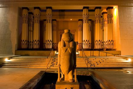 Rosicrucian Egyptian Museum (REM), founded by the Ancient Mystical Order Rosae Crucis, is a museum about Ancient Egypt located at AMORCs Rosicrucian Park in the Rose Garden neighborhood of San Jose, California, United States. The Rosicrucian Order contin Banco de Imagens
