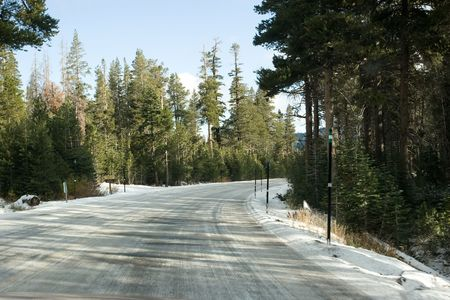 sierra snow: Trip to East Sierra in snow storm conditions.