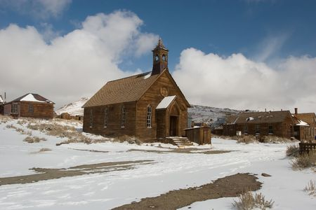 Bodie, a ghost town on the eastern slope of the Sierra Nevada mountain range in Mono County, California Stock Photo - 3717606