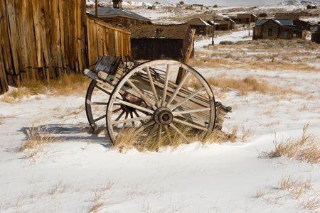 Bodie, a ghost town on the eastern slope of the Sierra Nevada mountain range in Mono County, California Stock Photo - 3718591