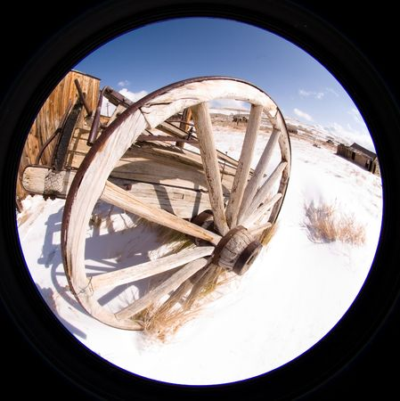 Bodie, a ghost town on the eastern slope of the Sierra Nevada mountain range in Mono County, California Stock Photo - 3718571