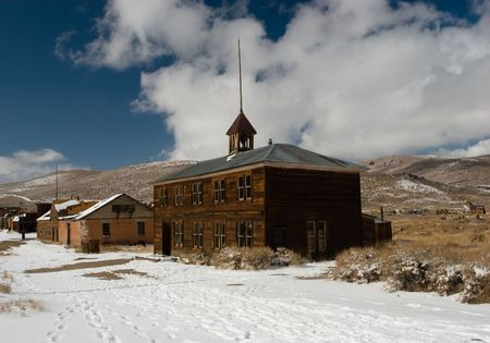 Bodie, a ghost town on the eastern slope of the Sierra Nevada mountain range in Mono County, California Stock Photo - 3722447