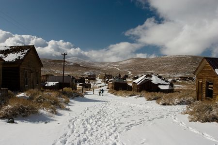 Bodie, a ghost town on the eastern slope of the Sierra Nevada mountain range in Mono County, California Stock Photo - 3722502