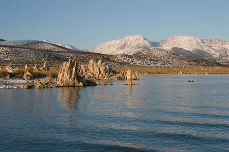 Mono Lake is an alkaline and hypersaline lake in California Stock Photo - 3758525