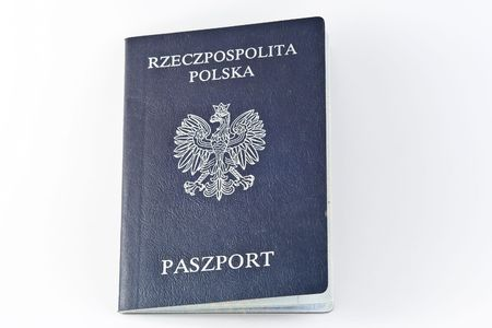 Polish passports are issued to Polish citizens to travel outside of Poland. Archivio Fotografico