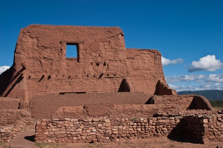 Pecos National Historical Park is a National Historical Park in the U.S. state of New Mexico. It is located about 25 miles (40 km) east of Santa Fe, New Mexico.
