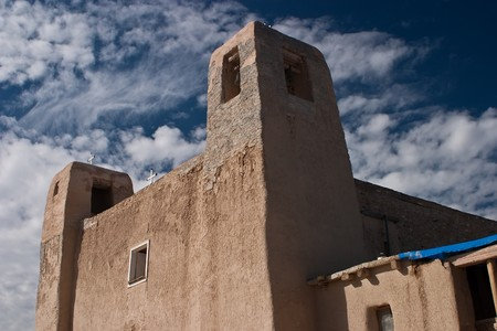 possession: Begun in 1630, only 32 years after Juan de O&ntilde,ate took possession of New Mexico in the name of King Philip II of Spain, San Esteban del Rey Church was one of the few Spanish missions to survive the Pueblo Revolt of 1680.