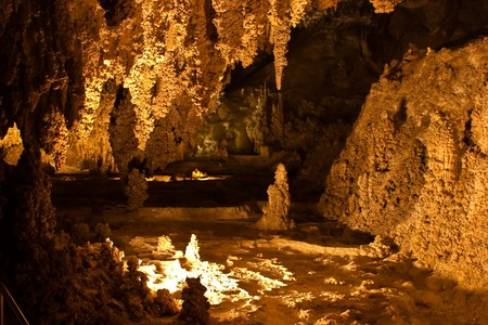 mineralized: Carlsbad Caverns National Park