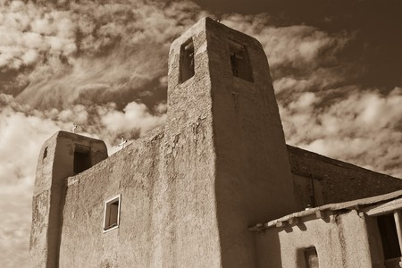 Begun in 1630, only 32 years after Juan de O�ate took possession of New Mexico in the name of King Philip II of Spain, San Esteban del Rey Church was one of the few Spanish missions to survive the Pueblo Revolt of 1680. When one considers the labor that t photo