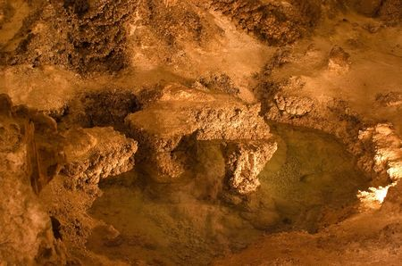 mineralized: Carlsbad Caverns National Park is a United States National Park located in the Guadalupe Mountains in southeastern New Mexico. The primary attraction of the park for most visitors is the show cave, Carlsbad Caverns.