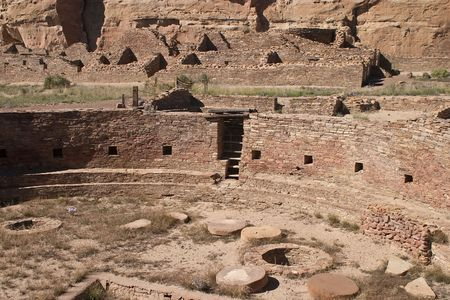 kiva: Chaco Culture National Historical Park, United States National Historical Park