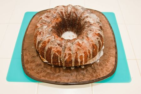 It is a spongy yeast cake that is traditionally baked for Easter Sunday in Poland, Belarus, Ukraine and Western Russia. photo
