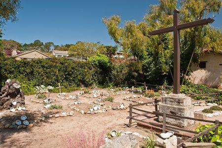 carlos: Mission San Carlos Borromeo de Carmelo Stock Photo